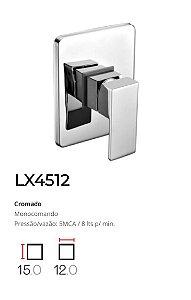 Registro Monocomando completo, base 1/2'   LX4512 - Lexxa