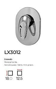 Registro Monocomando completo, base 1/2'  LX3012 - Lexxa