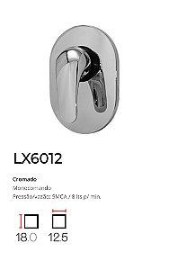 Registro Monocomando completo, base 1/2'  LX6012 - Lexxa