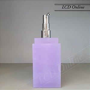 Saboneteira líquida quadrada - resina
