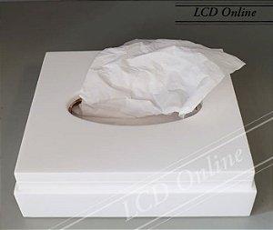 Porta lenço retangular - resina