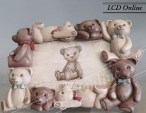 Porta retrato infantil ursos
