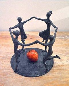 Escultura Castiçal Ciranda - Ek70