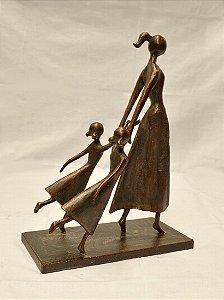 escultura Mãe e Filhas - Ek73