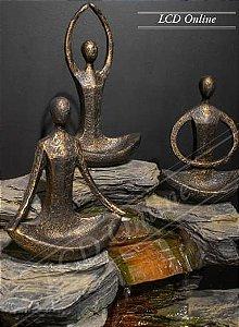 Escultura - Trio Yoga - Porta joias