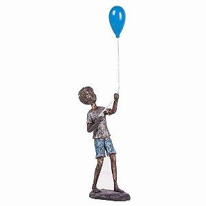 Escultura Boy Ballon