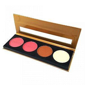 Paleta de blushes fenzza makeup