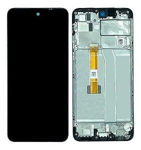 DISPLAY LCD LG K52 K520 PRETO COM ARO INCELL