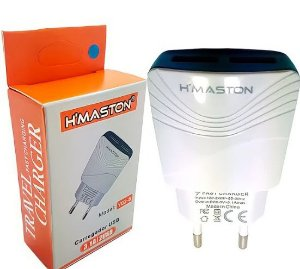 FONTE H!MASTON 3.1 Y02-8 2 USB  BRANCO