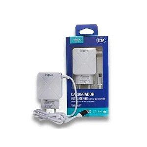 CARREGADOR PRIME INOVA G5180 3.1A 2 USB V8
