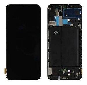 DISPLAY LCD SAMSUNG GALAXY A70 A705 ORIGINAL NACIONAL COM ARO