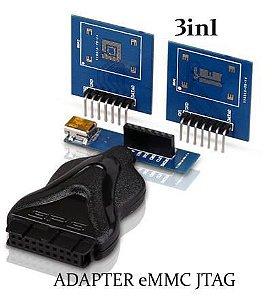 Adaptador 3 x 1 EMMC p/ Z3X Easy JTAG