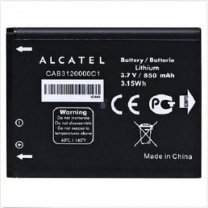 BATERIA ALCATEL CAB3120000C1 ONE TOUCH 880 / 880A / 710 / 807 3.7v 850mAh 3.15Wh