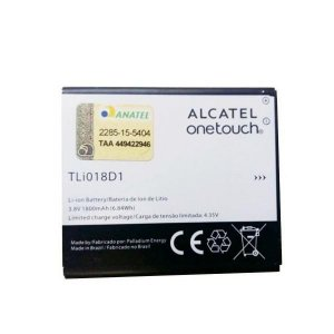 BATERIA ALCATEL TL018D1 ONE TOUCH POP D5 5038D 1800mah 3.8v 6.84wh