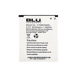BATERIA BLU L280i LIFE 8 / D572A STUDIO 5.0 - C765804200L ( 3.8V 2000mAh - 7.60Wh )