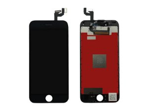 "DISPLAY LCD iPHONE 6S (4,7"") PRETO - 1º LINHA"
