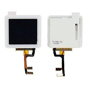 DISPLAY LCD iPOD NANO 6 COM TOUCH BRANCO (6ª GERAÇÃO)