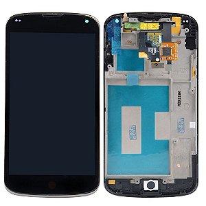 DISPLAY LCD LG E960 NEXUS 4 COMPLETO - PRETO