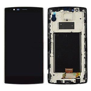 DISPLAY LCD LG F500/H810/H815 G4 PRETO ( 1 CHIP ) / TELA LG G4 COMPLETA PRETA ( ONE SIM )
