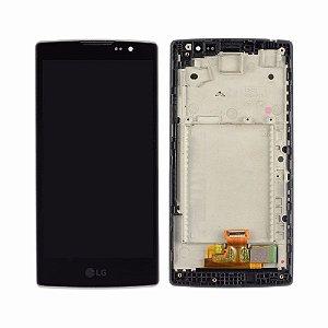 DISPLAY LCD LG H400 / H422 / H440 VOLT COMPLETO - PRETO