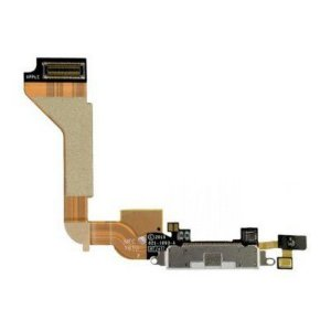 CONECTOR DE CARGA iPHONE 4G COMPLETO (DOCK FLEX) BRANCO
