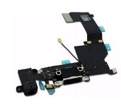 CONECTOR DE CARGA iPHONE 5G COMPLETO / DOCK iPHONE 5G PRETO