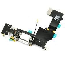 CONECTOR DE CARGA iPHONE 5S BRANCO (FLEX DOCK)