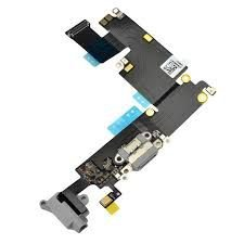 "CONECTOR DE CARGA iPHONE 6G PLUS 5,5"" PRETO (FLEX DOCK)"