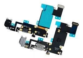 "CONECTOR DE CARGA iPHONE 6S PLUS 5.5"" PRETO ( FLEX DOCK )"