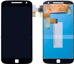 DISPLAY LCD MOTOROLA XT1640 MOTO G4 PLUS - PRETO