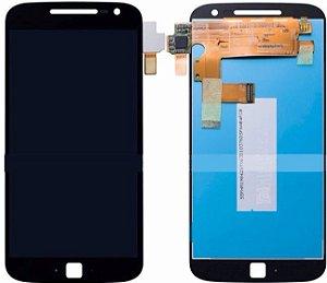 DISPLAY LCD MOTOROLA XT1640 MOTO G4 PLUS - PRETO
