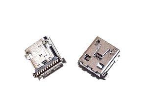 CONECTOR DE CARGA LG D802/D805 - LG G2 PARA SOLDA NA PLACA
