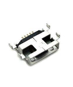 CONECTOR DE CARGA MOTOROLA XT920/XT1022/XT1025/XT1032/XT1033 MOTO E / MOTO G  / LG H326 LEON PARA SOLDA NA PLACA