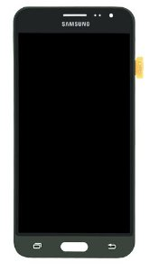 DISPLAY LCD SAMSUNG J3/J320 GALAXY J3 2016 COMPLETO - INCELL - CINZA GRAFITE