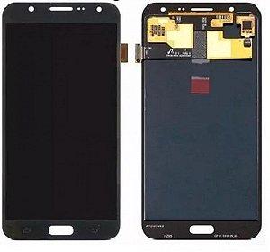 DISPLAY LCD SAMSUNG J7/J700 GALAXY J7 COMPLETO - CINZA/GRAFITE