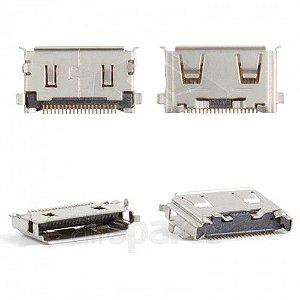 CONECTOR DE CARGA SAMSUNG C3510/C450/D880/E746/E210/F250/G600/J750/S3650/S5600 PARA SOLDA NA PLACA