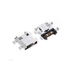 CONECTOR DE CARGA SAMSUNG G350/G530/G7102/G7106/S7582/ON5/ON7/G5700/G6100/J5 PRIME/J7 PRIME PARA SOLDA NA PLACA