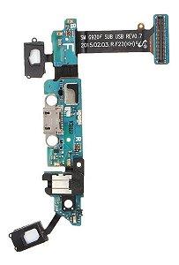 CONECTOR DE CARGA SAMSUNG G920 S6 - DOCK AUDIO/SENSOR (F)