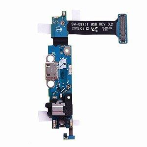 CONECTOR DE CARGA SAMSUNG G925 GALAXY S6 EDGE DOCK COMP. (T)