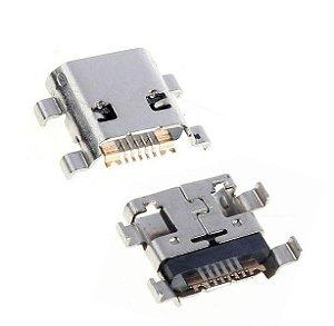 CONECTOR DE CARGA SAMSUNG i8160/i8190/S7530/S7560/S7562 PARA SOLDA NA PLACA