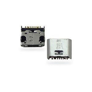 CONECTOR DE CARGA SAMSUNG i9080/i9082/I8550/i8552/i869 PARA SOLDA NA PLACA