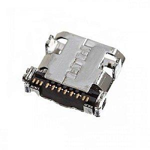 CONECTOR DE CARGA SAMSUNG i9500/i9505/N7100 GALAXY S4 / GALAXY NOTE 2 PARA SOLDA NA PLACA