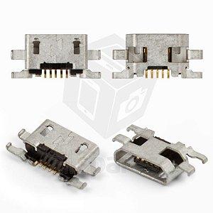 CONECTOR DE CARGA SONY C2304/C2305/S39h/S39 XPERIA C / MOTOROLA XT1063/XT1068/XT1069 - MOTO G2 PARA SOLDA NA PLACA