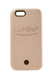 "CAPA LUMEE CASE iPHONE 6G/6S PLUS 5.5"" / CAPA COM LED P/ SELFIE LUMEE DOURADA"