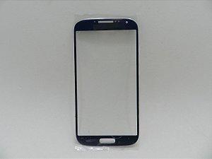 VIDRO SAMSUNG i9500/i9505 GALAXY S4 AZUL SOMENTE VIDRO / VIDRO S4