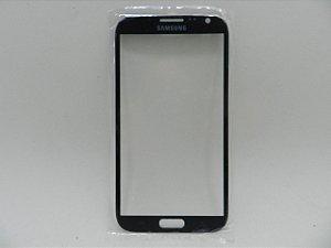 VIDRO SAMSUNG N7100 CINZA/GRAFITE - SOMENTE VIDRO