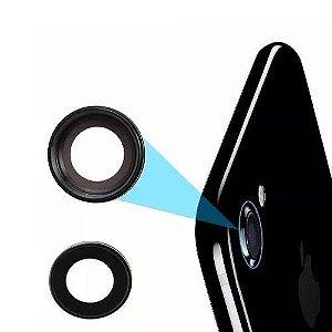 LENTE DA CAMERA IPHONE 7G 4.7'' ( LENTE EXTERNA DE PROTEÇÃO DA CAMERA TRASEIRA ) PRETA