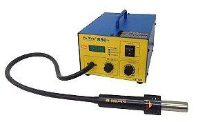 ESTAÇÃO DE RETRABALHO AR QUENTE YAXUN YX850+ / YX-850+ (COM LED) 220V