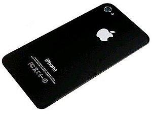 TAMPA TRASEIRA iPHONE 4G PRETA / TAMPA iPHONE 4 PRETA