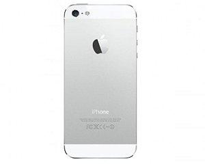 TAMPA TRASEIRA iPHONE 5G PRATA ( TELA BRANCA ) /CARCAÇA iPHONE 5G